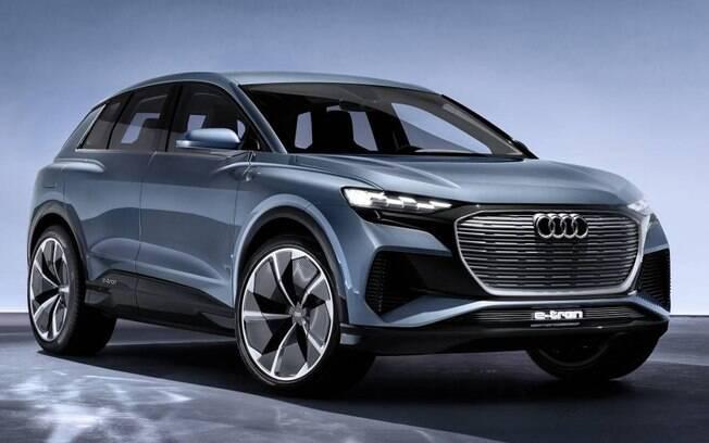 O Audi Q4 e-Tron será o primeiro Audi com a plataforma exclusiva para carros elétricos do grupo Volkswagen