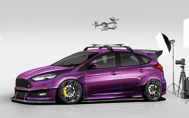 Ford Focus ST Blood Type Racing