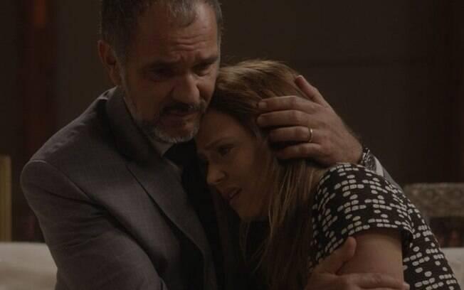 Germano afirma que amará o filho de Lili mesmo se Rafael for o pai, em