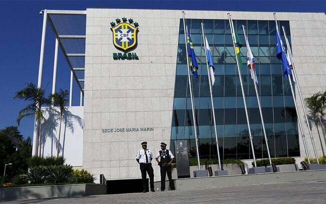 Sede da CBF, entidade do futebol brasileiro