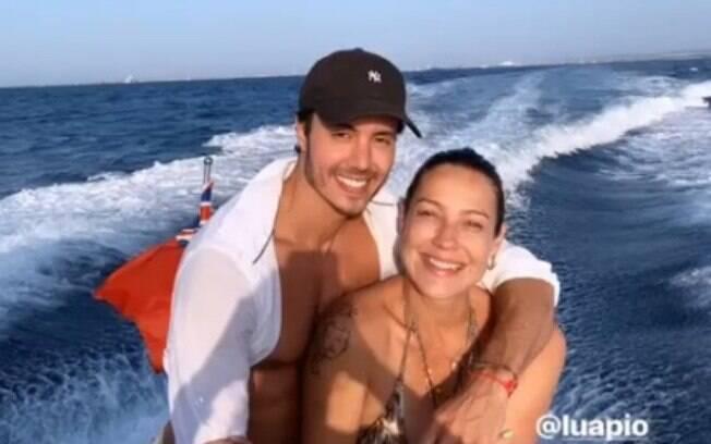 Marcel e Luana Piovani