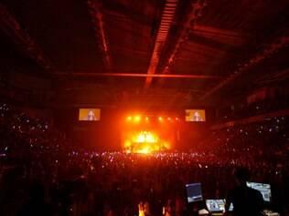 CIDADES. BELO HORIZONTE, MG.  Demi Lovato faz show em Belo Horizonte na noite de 01 de maio  FOTO: LINCON ZARBIETTI / O TEMPO / 01.05.2014