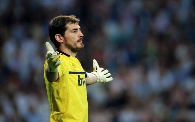 Iker Casillas, do Real Madrid e seleção  espanhola