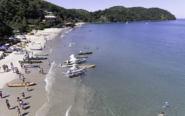 Ubatuba conta com mais de 150 praias e é um destino popular para os paulitas que querem fazer um bate e volta