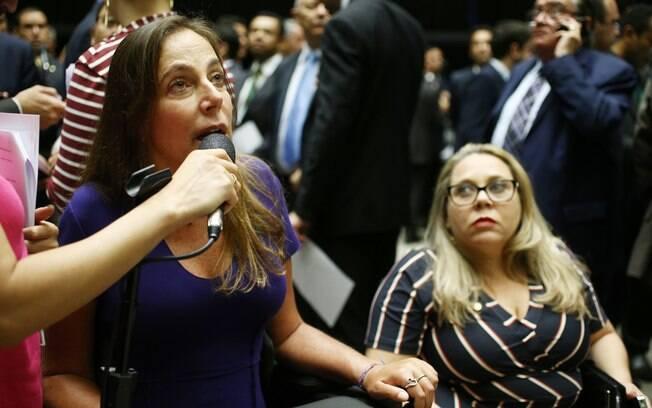 Mara Gabrilli defende pontos importantes da Reforma da Previdência