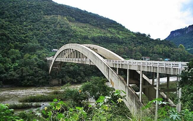 Ponte Ernesto Dornelles, que liga Bento Gonçalves e Veranópolis. Foto: Divulgação