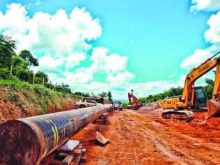 Mineroduto.  As obras deixaram rastro de insatisfação com impactos ambientais e sociais, de Conceição do Mato Dentro ao porto (RJ)