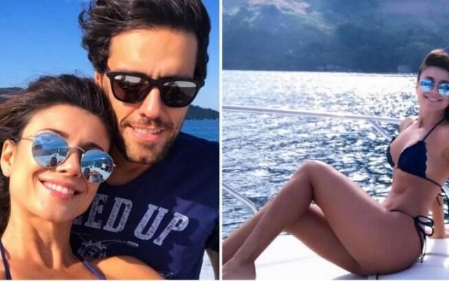Paula Fernandes e novo namorado se derretem em redes sociais