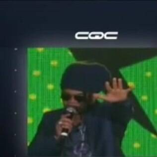 Carlinhos Brown vira piada no 'CQC' por causa de gafe