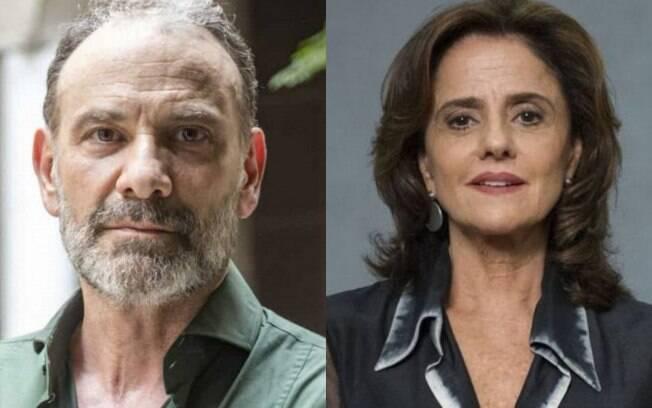Marco Ricca e Marieta Severo