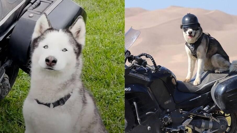 Sox adora viajar pelo país em sua moto
