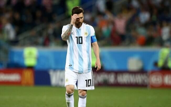 Messi pediu para não ser convocado para a seleção argentina em 2018