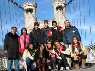 A família de Helena de Luna na Europa: reunir a família vira um acontecimento muito especial