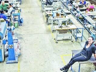 Perspectiva. Paula Bahia, dona de uma fábrica em BH, só está otimista quanto ao mercado interno