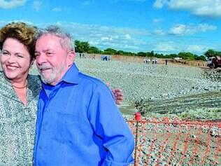 Pernambuco. Ex-presidente e candidata à reeleição visitaram obras de transposição do rio São Francisco