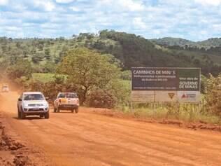 Áreas no distrito de Conceição do Mato Dentro sofre com a falta de água e com a obra que passa pela região. Foto: Mariela Guimarães