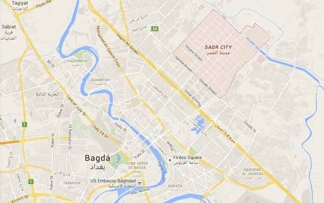 Duplo atentado foi realizado em Sadr, no norte de Bagdá; região é habitada por maioria xiita
