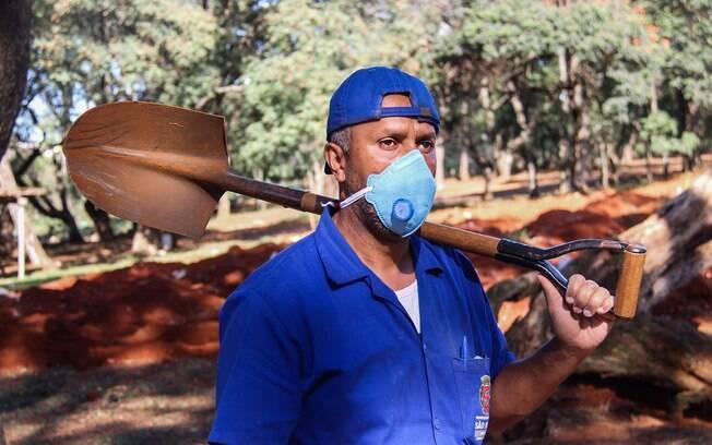 Adenilson luta diariamente para que os testes sejam feitos no trabalhadores do Vila Formosa