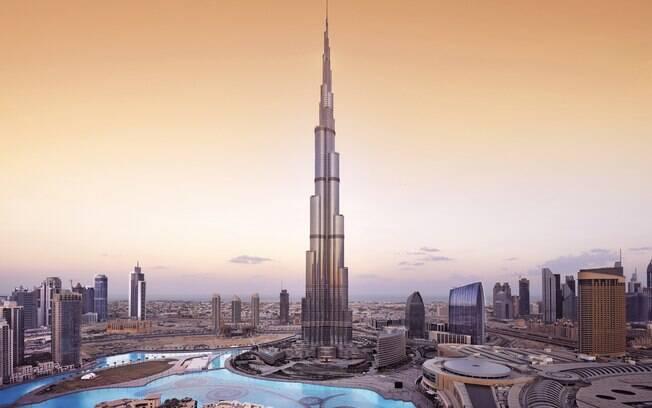 Dubai, capital dos Emirados Árabes, é um dos destinos mais procurados pelos famosos