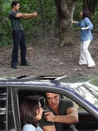 Enfermeira ameaça denunciar Ferdinand e Tereza Cristina, e o capanga lhe dá um tiro