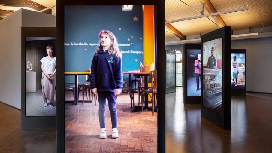 O Museu foi concebido também com recursos de acessibilidade física e de conteúdo.