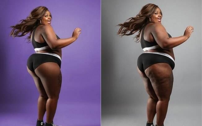 Antes e depois da atriz deixou muita gente impactada na internet. Para muitos, os efeitos especiais não deveriam existir