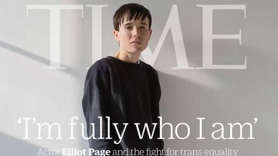 Elliot é o primeiro trans a estampar a revista TIME
