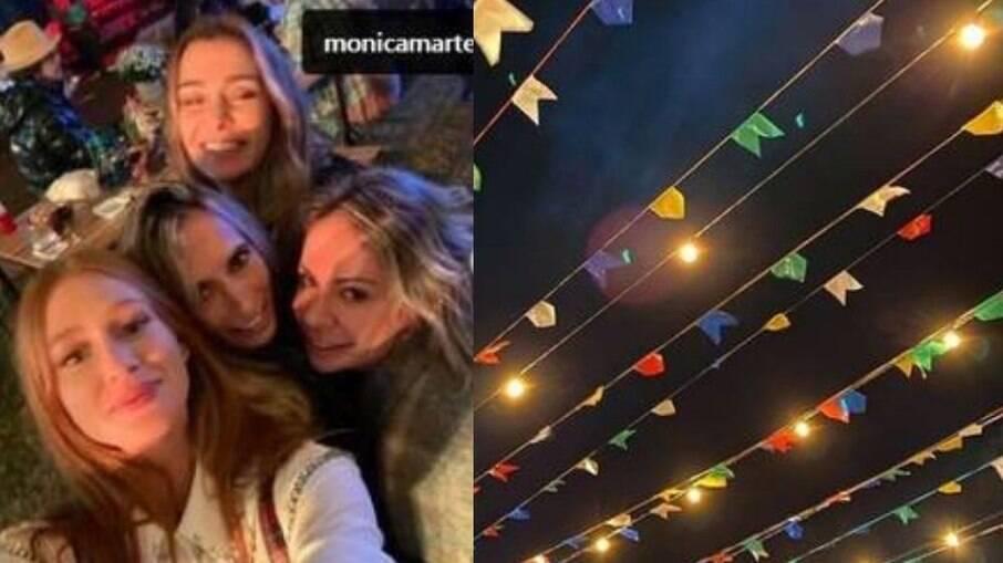 Marina Ruy Barbosa, Mônica Martelli e outras amigas