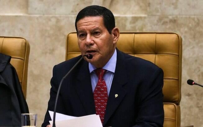 O vice-presidente Hamilton Mourão garantiu que
