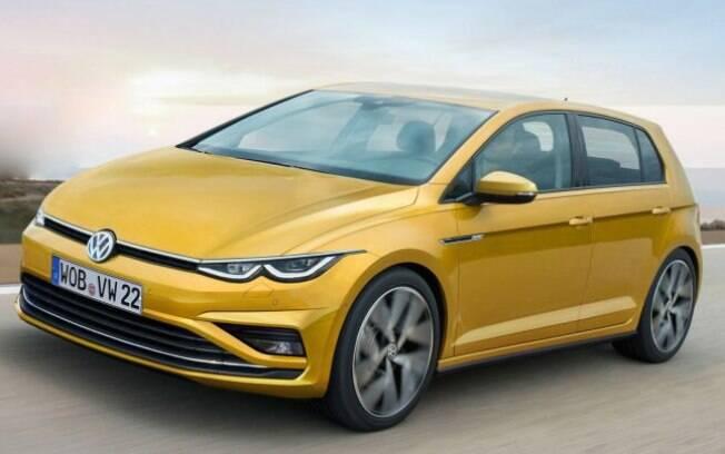 Golf VIII: como mostra a projeção do site Dream Auto Car, o carro da VW será muito mais arrojado em termos visuais