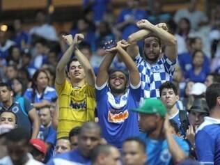 Torcida do Cruzeiro deu um show nas arquibancadas do Mineirão