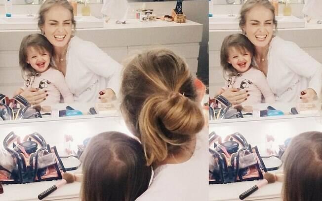 Angélica e Eva em foto do Instagram