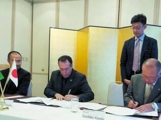 Recursos. Termo assinado no último dia 3 prevê que japoneses vão investir U$ 1 milhão no projeto