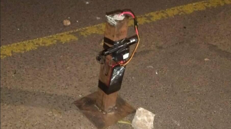 Explosivo utilizados em Araçatuba tem acionamento remoto e é comum em mega-assaltos