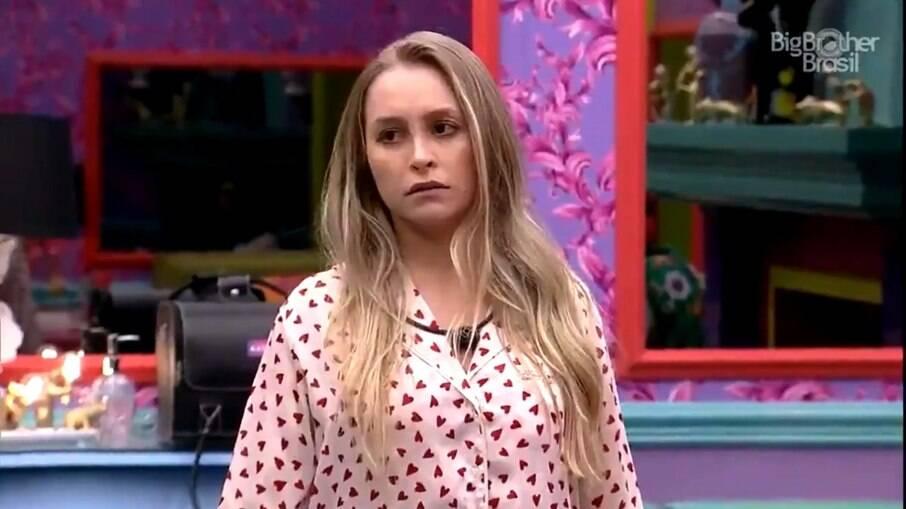 Carla Diaz perdeu a paciência com Lucas
