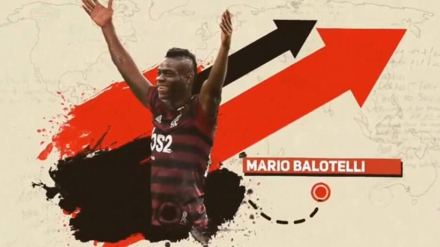 Perfil do Brasileirão 'anuncia' Balotelli no Flamengo e confunde torcedores