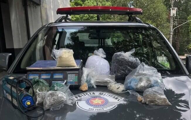 2º Batalhão de Choque apreende drogas na zona sul de São Paulo