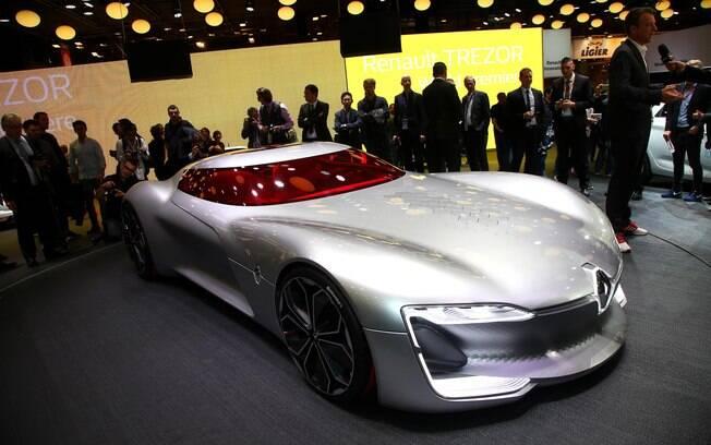 Renault Trezor mostra qual será a linguagem de design da marca que será seguida nos próximos anos
