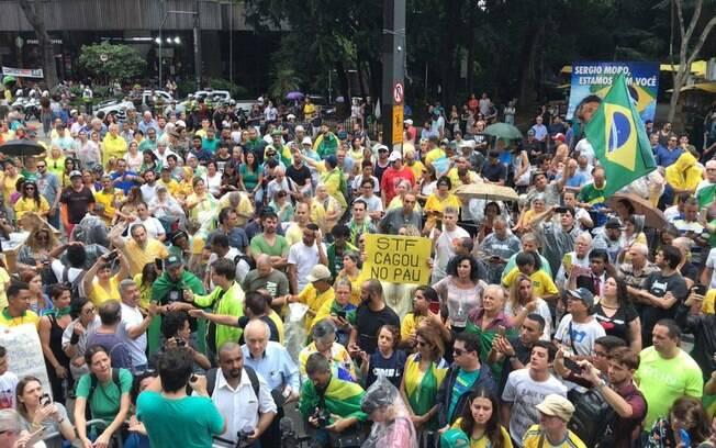 Manifestação em defesa da Operação Lava Jato em São Paulo