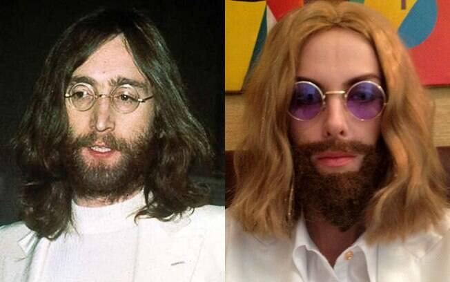 John Lennon e Ana Hickmann: Gostou?