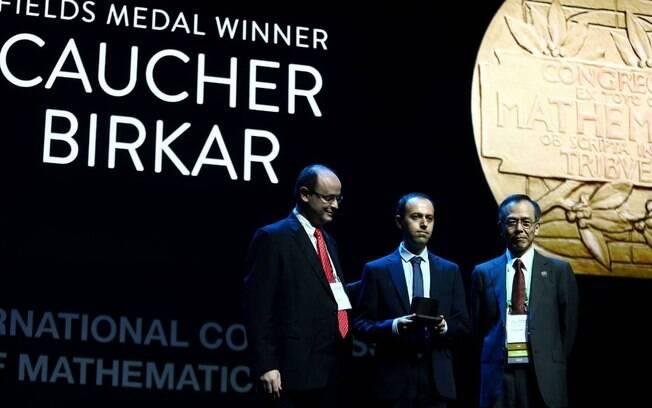 Matemático iraniano Caucher Birkar teve a sua medalha Fields, o 'Nobel da Matemática', furtado ontem