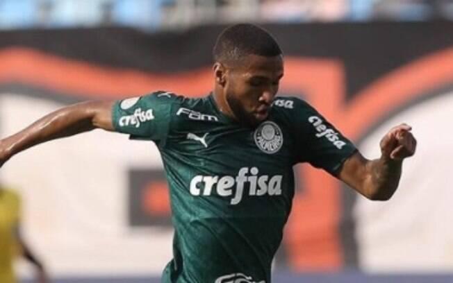 Wesley, atacante do Palmeiras