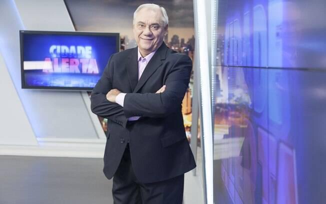 Marcelo Rezende é homenageado da Record Tv