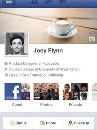 Novo perfil do Facebook está disponível para usuários do aplicativo do Android