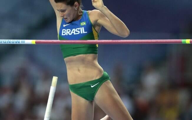 Fabiana Murer se classificou para a final do  salto com vara