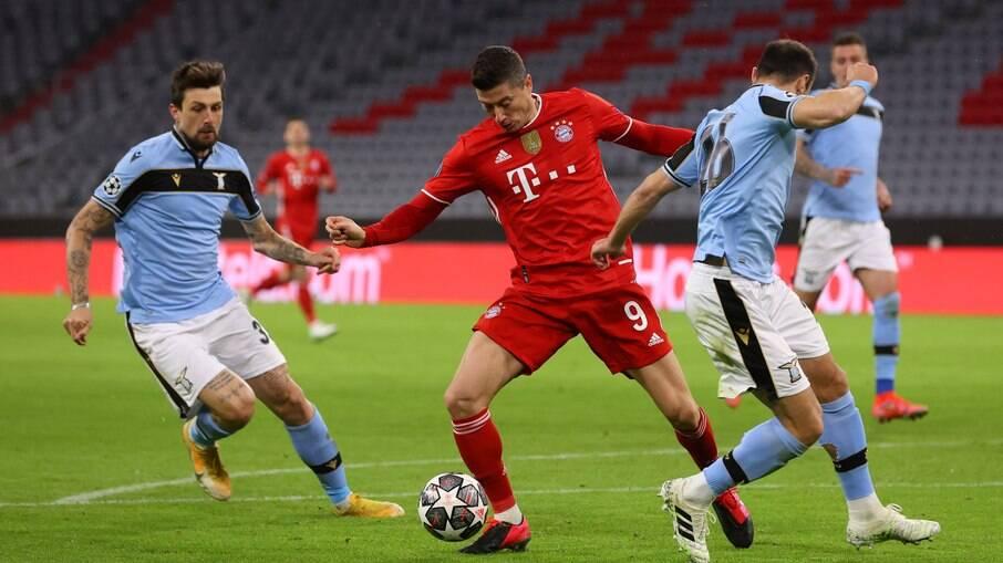 Confira como foi Bayern x Lazio