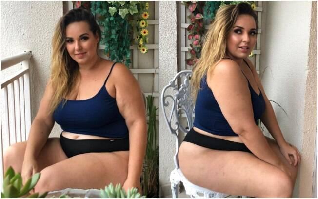 A publicitária Juliana Rangel fez uma publicação em sua conta no Instagram falando sobre a relação com o próprio corpo