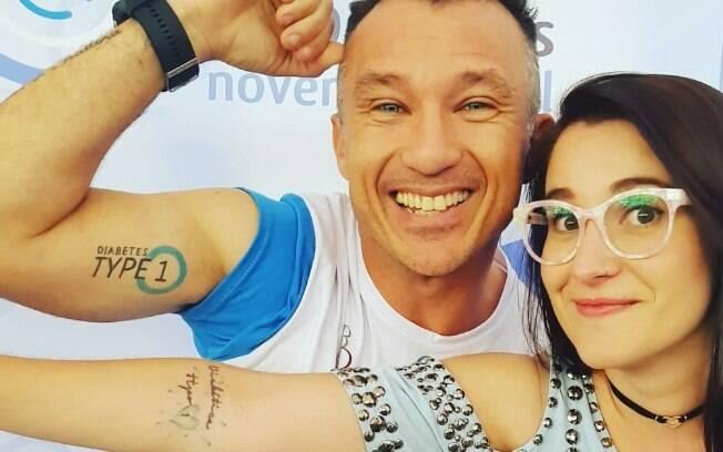 Tatuagens de identificação funcionam como alternativa para garantir que a pessoa seja reconhecida como diabética