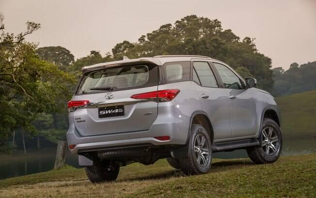 Com a nova versão SW4 Diamond, a Toyota leva a categoria dos SUVs grandes no ranking de vendas