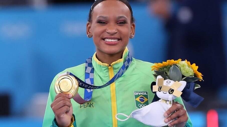 Rebeca Andrade, a ginasta brasileira que fez história nas Olimpíadas 2020